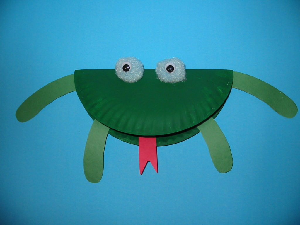 Paper Plate Frog Craft Leap Day Activity Kiddo Blogger